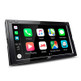 "JVC KW-M750BT 6.8"" Mechless 2-DIN AV Receiver with Apple CarPlay/Android Auto/Bluetooth Connectivity"