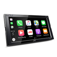 "JVC KW-M950BW 6.8"" Mechless with Wireless Apple CarPlay/Android Auto/WiFi Smartphone Mirroring"