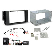 Aerpro FP9291K Double DIN Install Kit to Suit Landrover 2005-2009