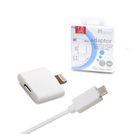 Aerpro APL106 Micro USB to Lightning Adaptor with Micro USB 1 Metre Cable Kit