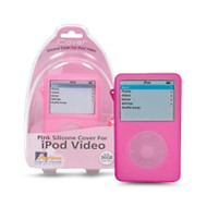 Aerpro APV89302 30gb Pink Silicone Case Suits iPod Video