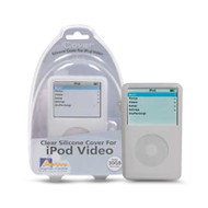 Aerpro APV89304 30gb Clear Silicone Case Suits iPod Video