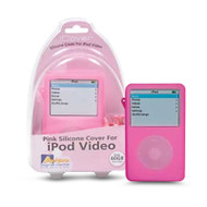 Aerpro APV89305 60gb Pink Silicone Case Suits iPod Video