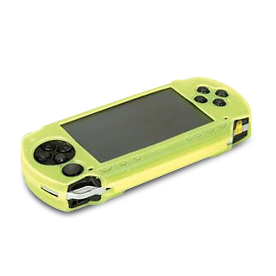 Aerpro APY89265 Green Silicone PSP Case