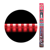 "Aerpro EL226R 2x26"" Red Super Under Car LED Kit 11 Patterns with Controller Combine with EL252R"