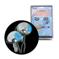 Aerpro EL6B 8 Ball Windscreen Washer LED Blue