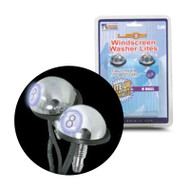Aerpro EL6W 8 Ball Windscreen Washer LED White