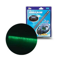 "Aerpro EL76G 6"" Green LED Light Dual Bubble Glow"