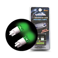 Aerpro ELL11G Green 4 LED Spinning Globes Pack of 2