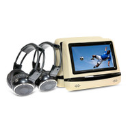 Gator GEM7BE HD Multiplayer Kit + Wireless Headphones Beige