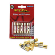 DNA AFA160 60 Amp AGU Gold Fuses - 1 Pack for 5