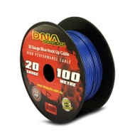 DNA AWP1320 100 Metres 20 Gauge Hookup Power Cable Blue