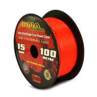 DNA AWP4101 100 Metres 4mm Single Core Power Cable Red