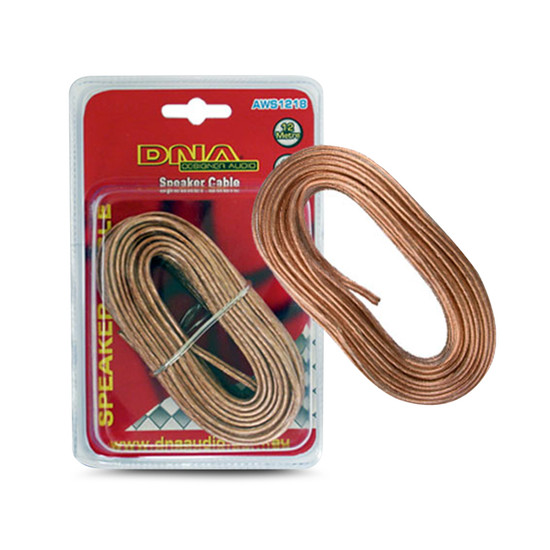 DNA AWS1218 12 Metres 18 Gauge Speaker Cable
