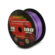 DNA AWS9016 100 Metres 16 Gauge Purple Speaker Cable