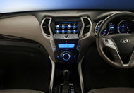 Opal - Hyundai Santa Fe 2013 - High Definition Factory Fit Navigation Multimedia System