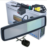 Clip On Rear View Mirror with Reverse Camera