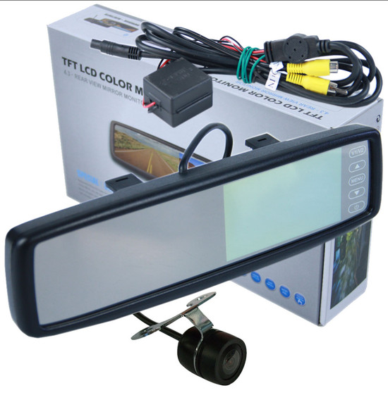 clip on rear view mirror with reverse camera frankies auto electrics. Black Bedroom Furniture Sets. Home Design Ideas