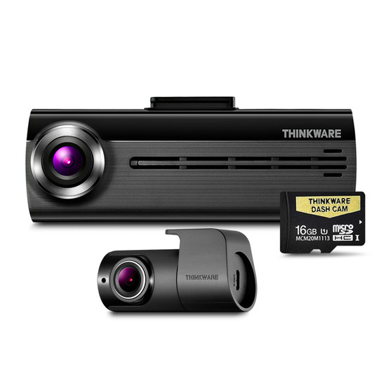 Thinkware F20016K Front & Rear Dash Cam - 16gb