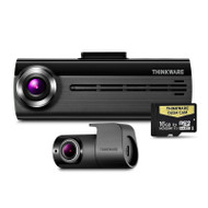 Thinkware F20016K Front & Rear Dash Cam with 16gb SD Card