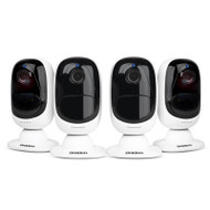 Uniden APPCAMSOLO4 Full HD Smart Camera - Quad Pack