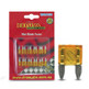 DNA WFM107 7.5 Amp Mini Blade Fuse - 1 Pack of 10