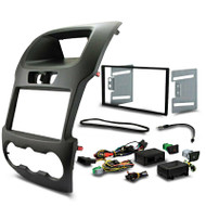 DNA FM-K5008GK Double DIN Fascia Panel & SWC To Suit Ford Ranger