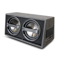 """Phoenix Gold Z212ABV2 Z Series Dual 12"""" 640W Subwoofer in a Ported Box"""
