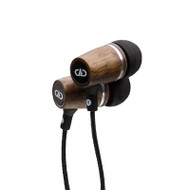 DD Audio DXB-1.1 Wooden Earbuds with Mic