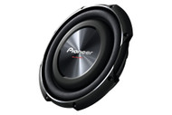 Pioneer TS-SW2502S4 25cm Shallow-mount 4Ω Single Voice Coil Sub (1200W Max, 300W Nominal Input)
