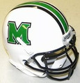 Marshall Thundering Herd Mini Authnetic Schutt Helmet