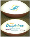 Miami Dolphins Full Size Logo Football
