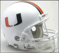Miami Hurricanes Full Size Authentic Helmet