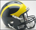Michigan Wolverines Revolution Full Size Authentic Helmet