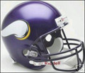 Minnesota Vikings 2006-2012 Full Size Replica Throwback Helmet
