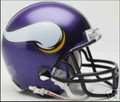 Minnesota Vikings 2006-2012 Throwback Mini Replica Helmet