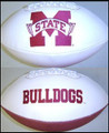 Mississippi State Bulldogs Rawlings Jarden Sports Signature NCAA Full Size Fotoball Football