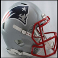New England Patriots Authentic Revolution Speed Football Helmet