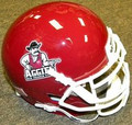 New Mexico St Aggies Mini Authentic Schutt Helmet
