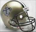 New Orleans Saints Full Size Replica Helmet