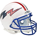 Air Force Falcons Schutt XP Flag Bolt Logo With Stripe Mini Helmet