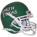 North Texas Mean Green Mini Authentic Schutt Helmet