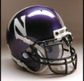 Northwestern Wildcats Full Size Authentic Schutt Helmet