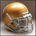 Notre Dame Fighting Irish Mini Authentic Schutt Helmet