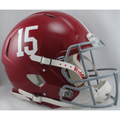 Alabama Crimson Tide #15 Authentic Speed Helmet