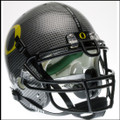 Oregon Ducks Carbon Fiber Authentic College Football Helmet Schutt