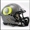 Oregon Ducks Carbon Fiber Hydrofx Mini Speed Helmet