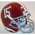 Alabama Crimson Tide Schutt XP Mini Helmet #15