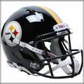 Pittsburgh Steelers Authentic Revolution Speed Football Helmets