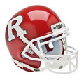 Rutgers Scarlet Knights Red Mini Authentic Schutt Helmet